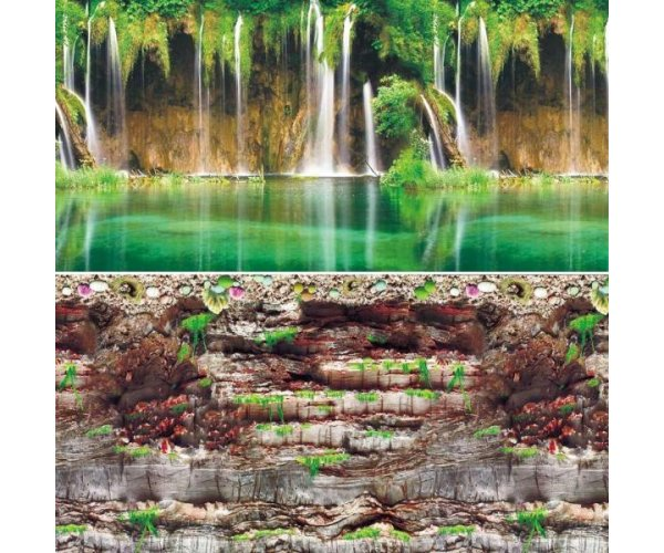 "Laguna Фон ""Скалистая стена/Водопад на Амазонке"" 9035/9083"