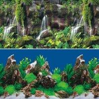 """Laguna Фон 9026/9028  """"Тропический водопад/Скалы в глубине"""""""