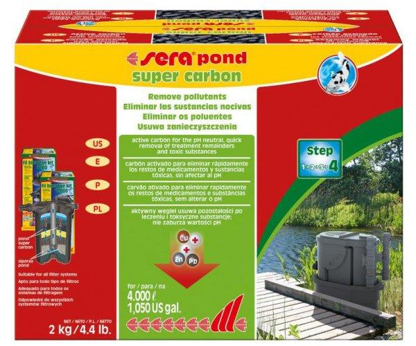"""Sera Активированный уголь """"Pond Super Carbon"""", 2 кг."""
