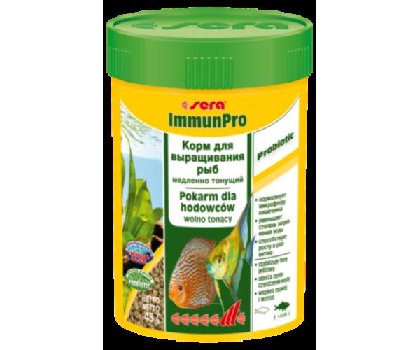 """Sera Корм гранулы для выращивания всех видов рыб """"ImmunPro"""""""