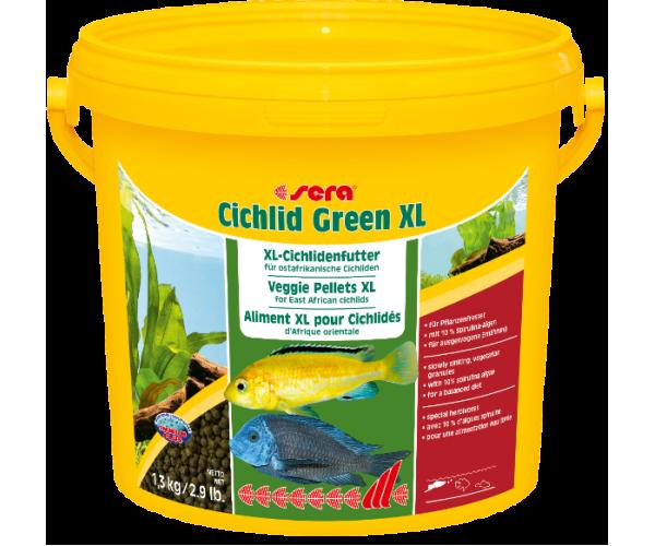 "Sera Корм для цихлид ""Cichlid Green"" XL"