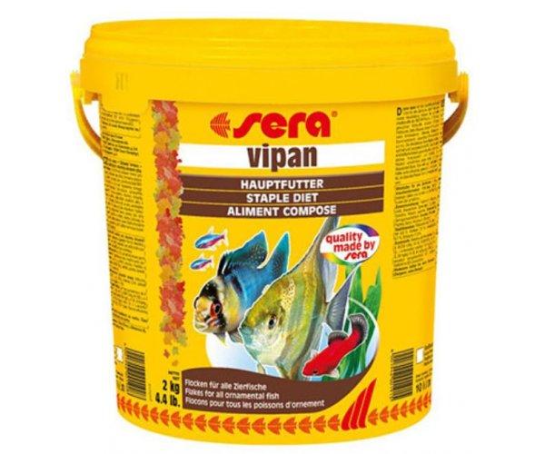 """Sera Корм хлопья крупные для всех рыб """"Vipan"""""""