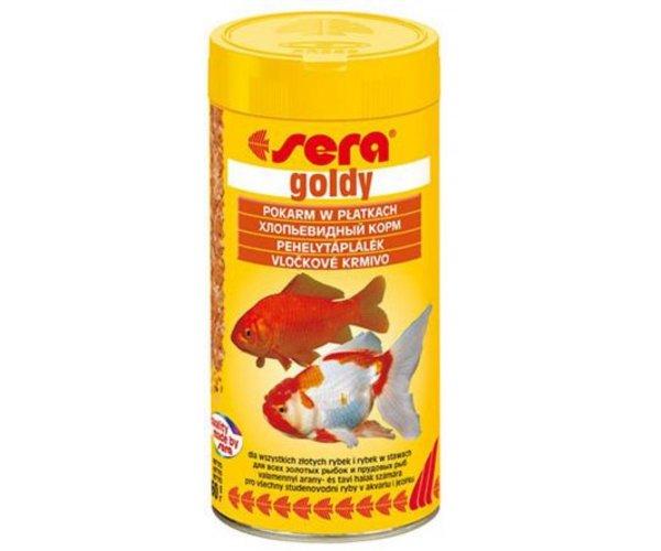 "Sera Корм хлопья для золотых рыбок ""Goldy"""