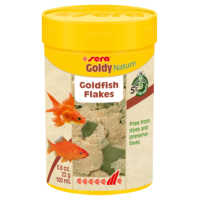 "Sera Корм хлопья для золотых рыбок ""Goldy Nature"""