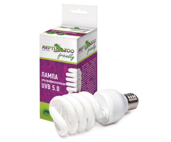 Repti-Zoo Friendly Лампа УФ UVB 5.0