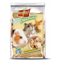 Vitapol Herbal Яблочный микс для грызунов и кроликов, 100 г
