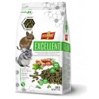 Vitapol Excellent Полнорационный корм для шиншилл и дегу, 500 г