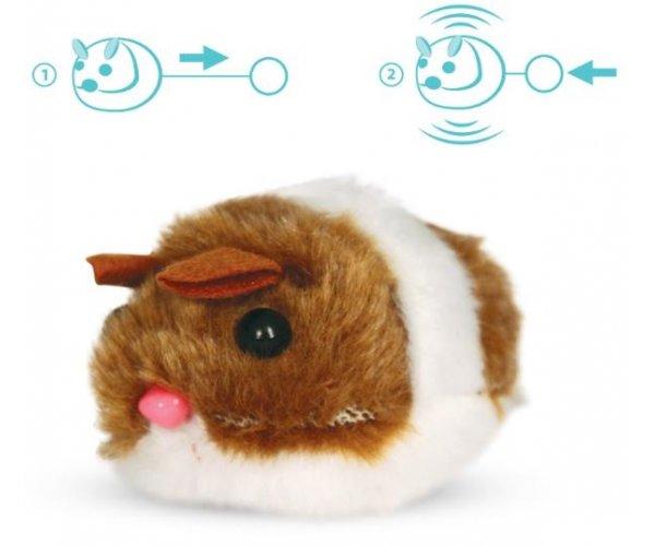 """Triol TT01 Игрушка для кошек """"Мышь"""" вибрирующая, 6 см для кошек"""