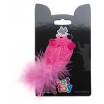 COMFY MINI Мышь розовая вязанная