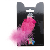 COMFY MINI Мышь розовая вязанная, 6 см