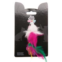 COMFY MINI Мышь с перьями, 9 см