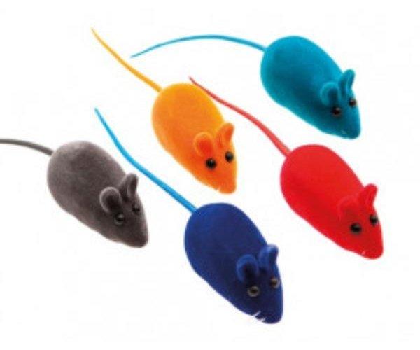"""COMFY Игрушка """"MINI"""" мышь с пищалкой  для кошек"""