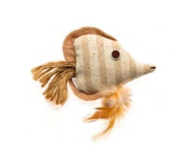 COMFY GAIA Рыбка из эко-материала, 9 см для кошек