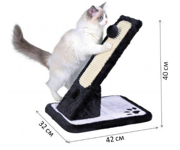 """Когтеточка """"TRIXIE"""" Плюшево-сизалевая для кошек"""