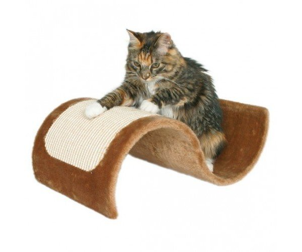"Когтеточка ""TRIXIE"" ""Wavy"" коричневая для кошек"