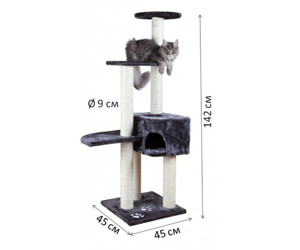 "Когтеточка-домик ""TRIXIE"" ""Alicante"", 142 см для кошек"