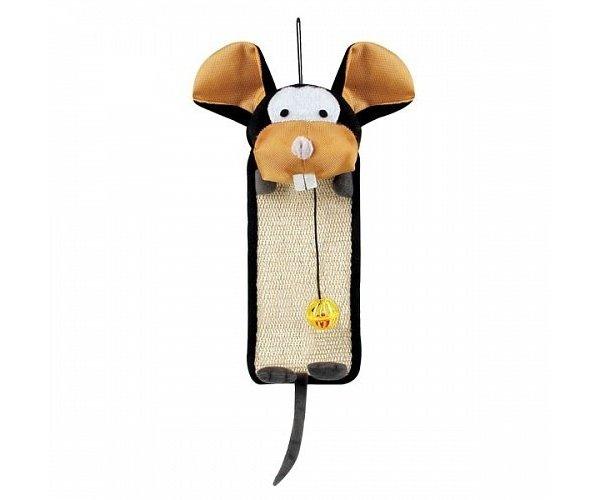 Triol Когтеточка-коврик веселая мышь для кошек