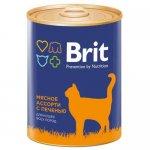 Brit Premium Cat (Мясное ассорти с печенью)