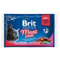 Brit Premium Cat Meat Plate, 4х100 г