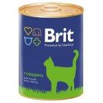 Brit Premium Cat (Говядина)