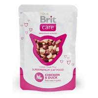 Brit Care Cat Chicken & Duck Pouch курица и утка