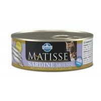 Консервы Farmina Matisse Cat Mousse Sardine, 85 г
