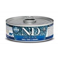 Консервы Farmina Cat Ocean Tuna & Shrimp, 80 г