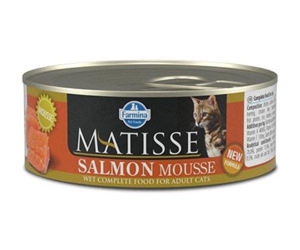 Консервы Farmina Matisse Cat Mousse Salmon, 85 г