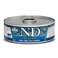 Консервы Farmina Cat Ocean Tuna, Cod & Shrimp, 80 г
