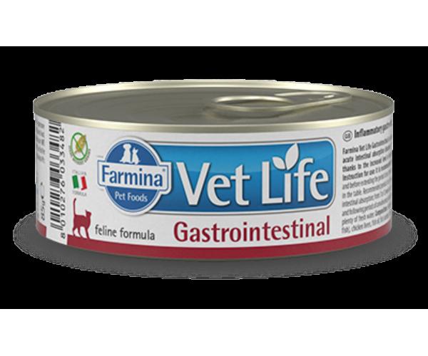 Консервы Farmina Vet Life Natural Diet Cat Gastrointestinal, 85 г