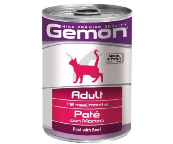 Gemon Консервы Cat Adult Pate Beef