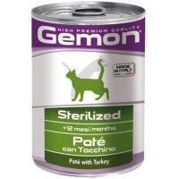 Gemon Консервы Cat Sterilized Pate Turkey