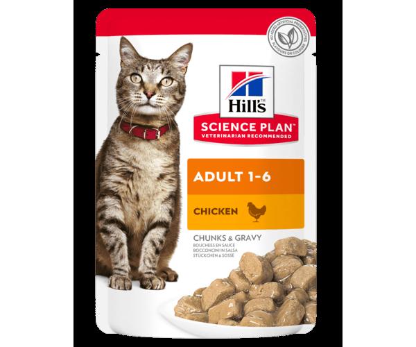 Hill's Science Plan Optimal Care влажный корм (курица)