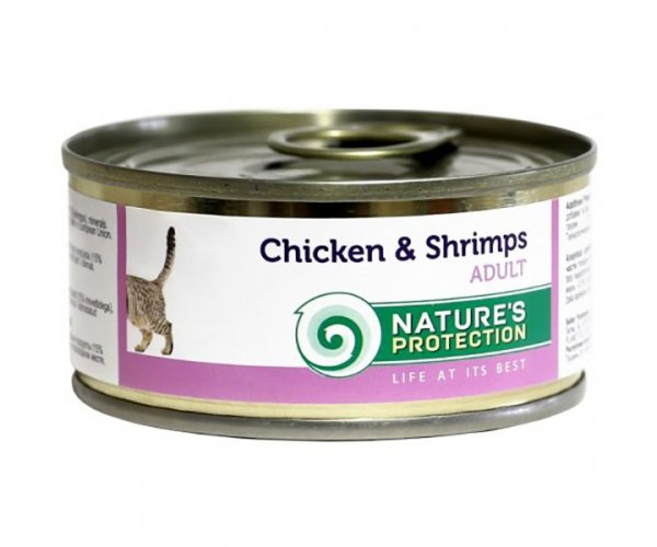 Nature's Protection Cat Chicken & Shrimps