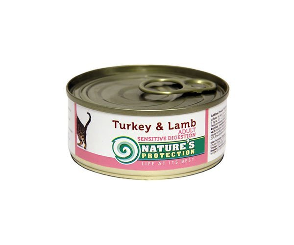Nature's Protection Cat Sensible Digestion Turkey & Lamb