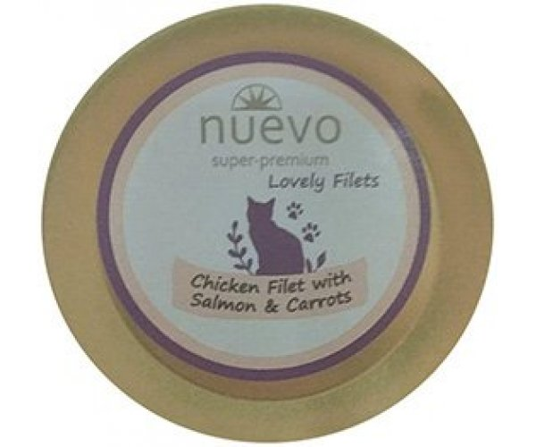 Nuevo Chicken Filet with Salmon & Carrots