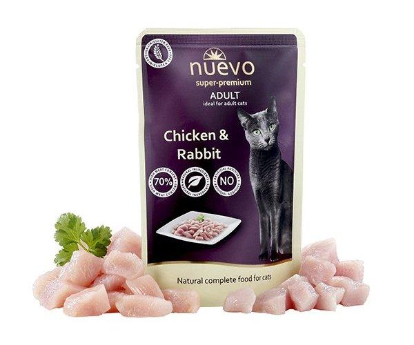 Nuevo Adult Chicken & Rabbit