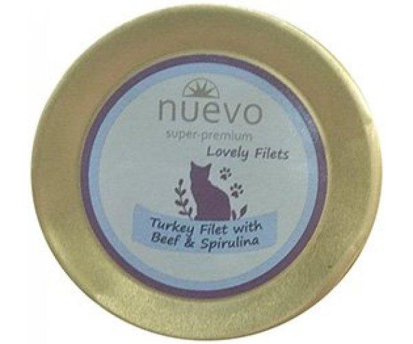 Nuevo Turkey Filet with Beef & Spirulina