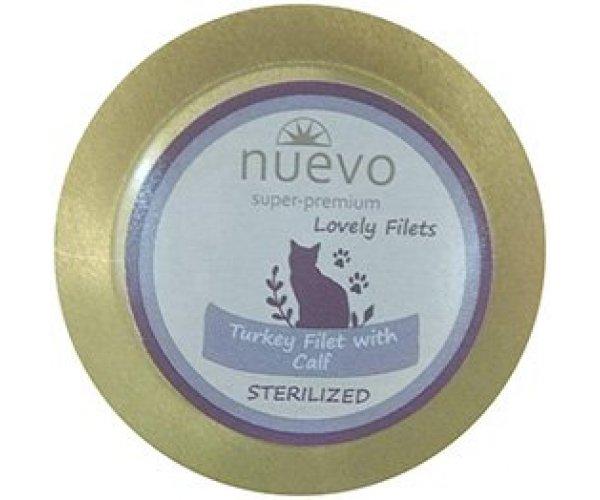 Nuevo Sterilized Turkey Filet & Calf