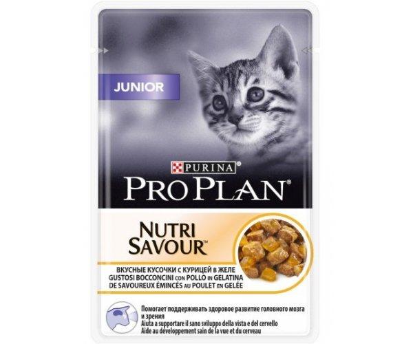 Pro Plan JUNIOR (Курица в желе)