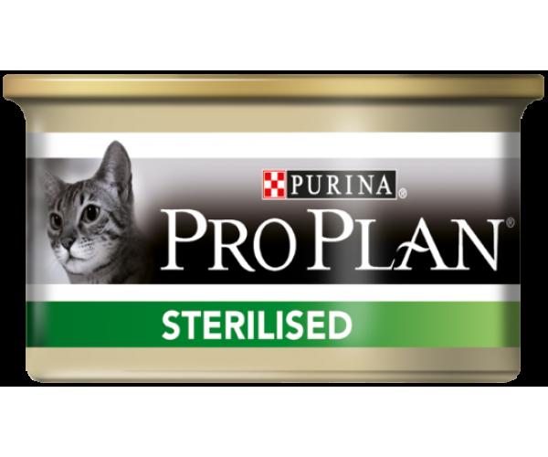Консерва Pro Plan sterilised (Тунец, лосось)