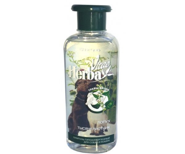Herba Vitae Шампунь гипоаллергенный для кошек и собак для кошек