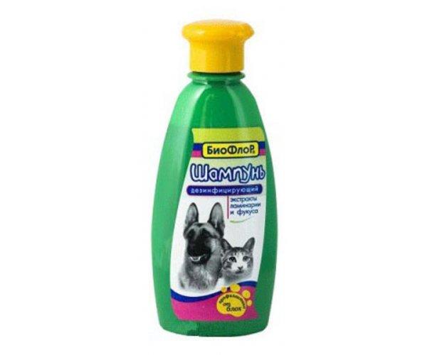 БиоФлор Шампунь дезинфицирующий, 250 мл для кошек