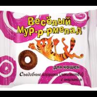 """VEDA Лакомство """"Веселый Мур-р-рмелад"""" с инулином"""