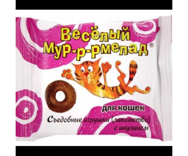 "VEDA Лакомство ""Веселый Мур-р-рмелад"" с инулином для кошек"