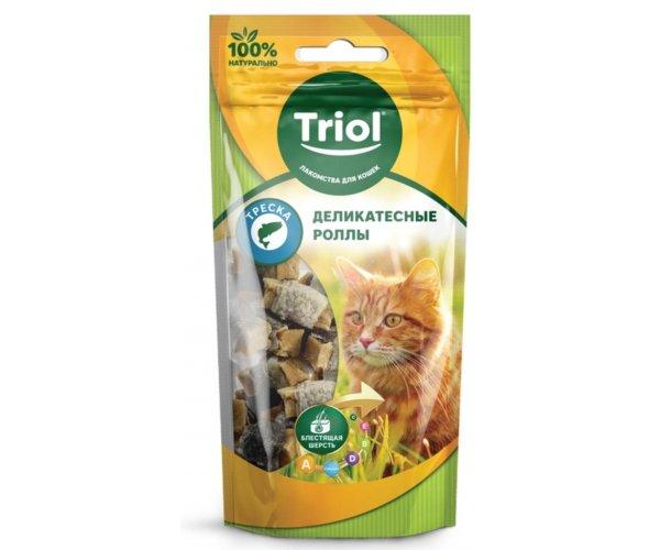 Triol PT36 Роллы из трески для кошек