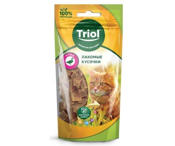 Triol PT39 Кусочки из утки для кошек