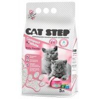 Cat Step Compact White Baby Powder