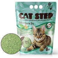Cat Step Tofu Green Tea