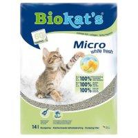 Biokat's Micro White Fresh наполнитель